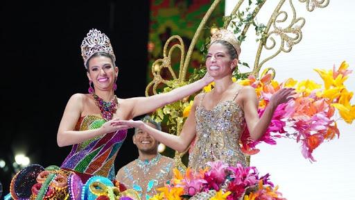 Tras su coronación, Isabella Chams Vega dio la orden de gozar el carnaval